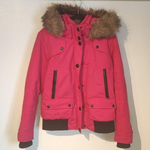 🍋 Point Zero | Women's Winter Jacket | Pink 🍋